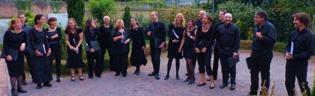 Choeur AdLibitum le 2 octobre 2016 à Schiltigheim