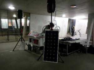 live drone + spoken word