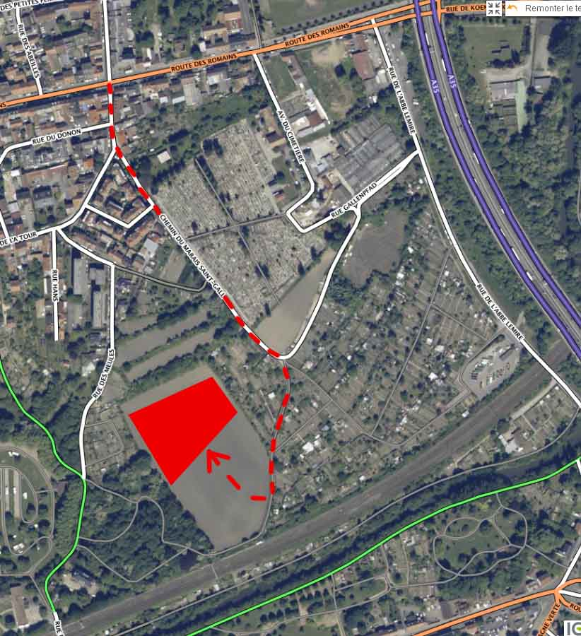 St Gall - Plan acces A4 13 12 20
