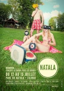 affiche Festival du Natala