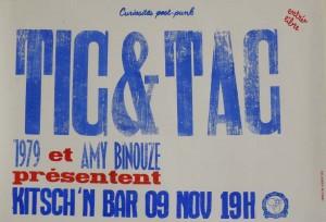 affiche tic  & tac 09111