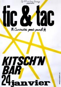 Tic&Tac : curiosités post punk 004