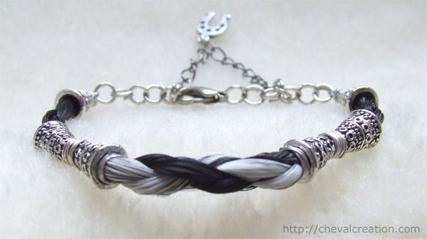 bracelet crins perles 2