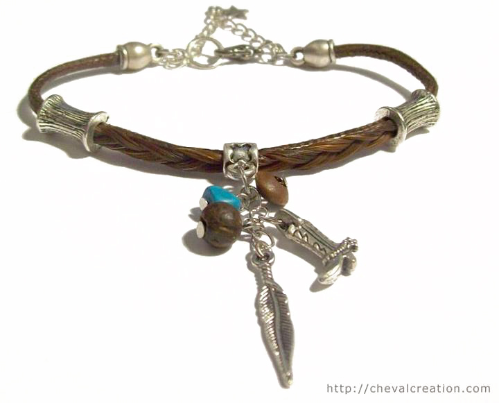 bracelet breloque coton