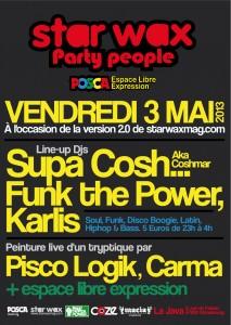 Star Wax Party People @ La Java (03/05/13)