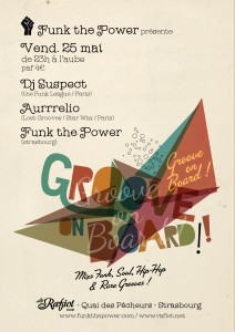 affiche groove on board