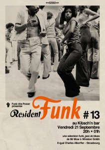affiche resident funk13