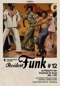 affiche resident Funk