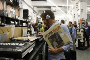 Image de WS en visite chez Rough Trade Bricklane
