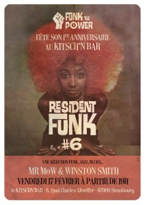 affiche Resident Funk 6
