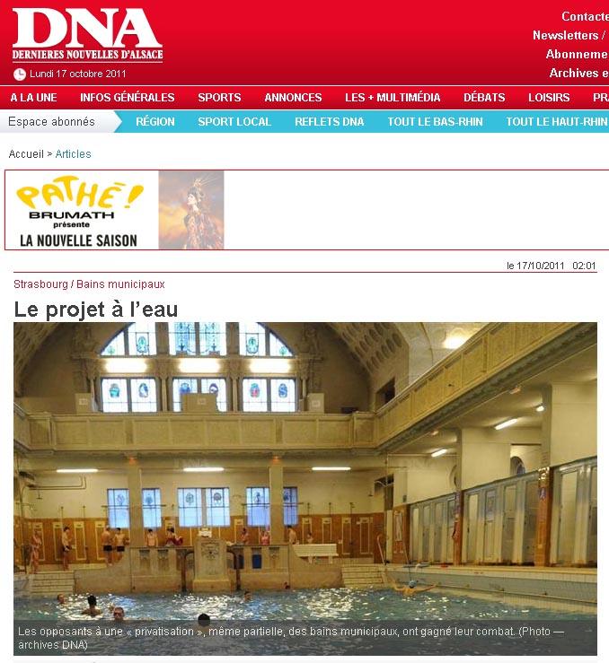 DNA Bains à l'eau