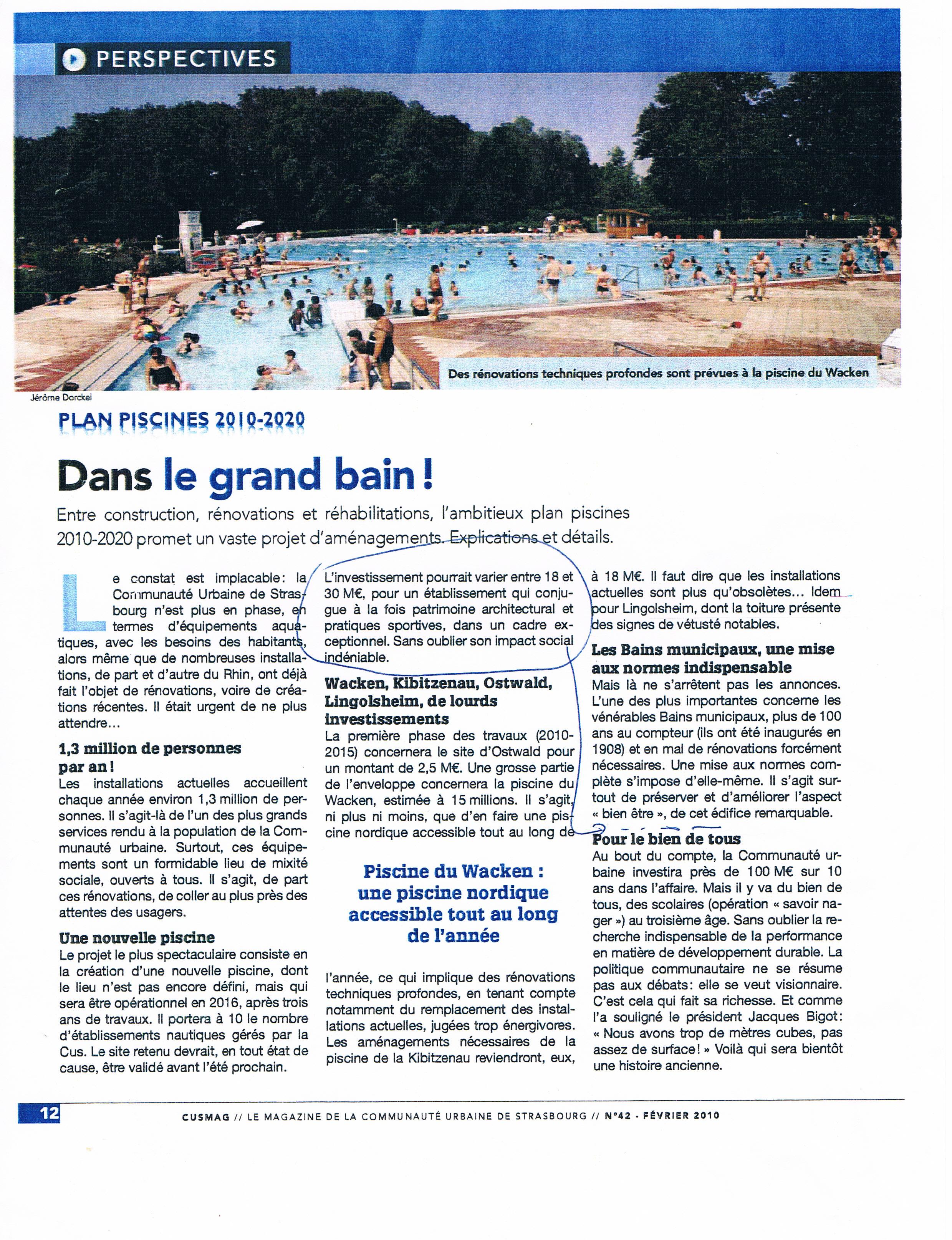 CUS mag Plan Piscine 2010