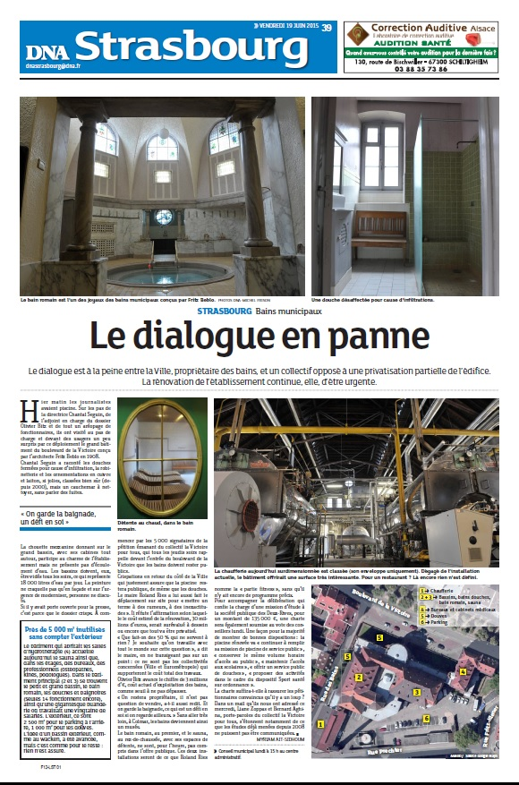 DNA 19 juin 2015 Le dialogue en panne