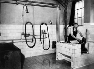 Bains pour chiens 1908 (archives de la CUS)