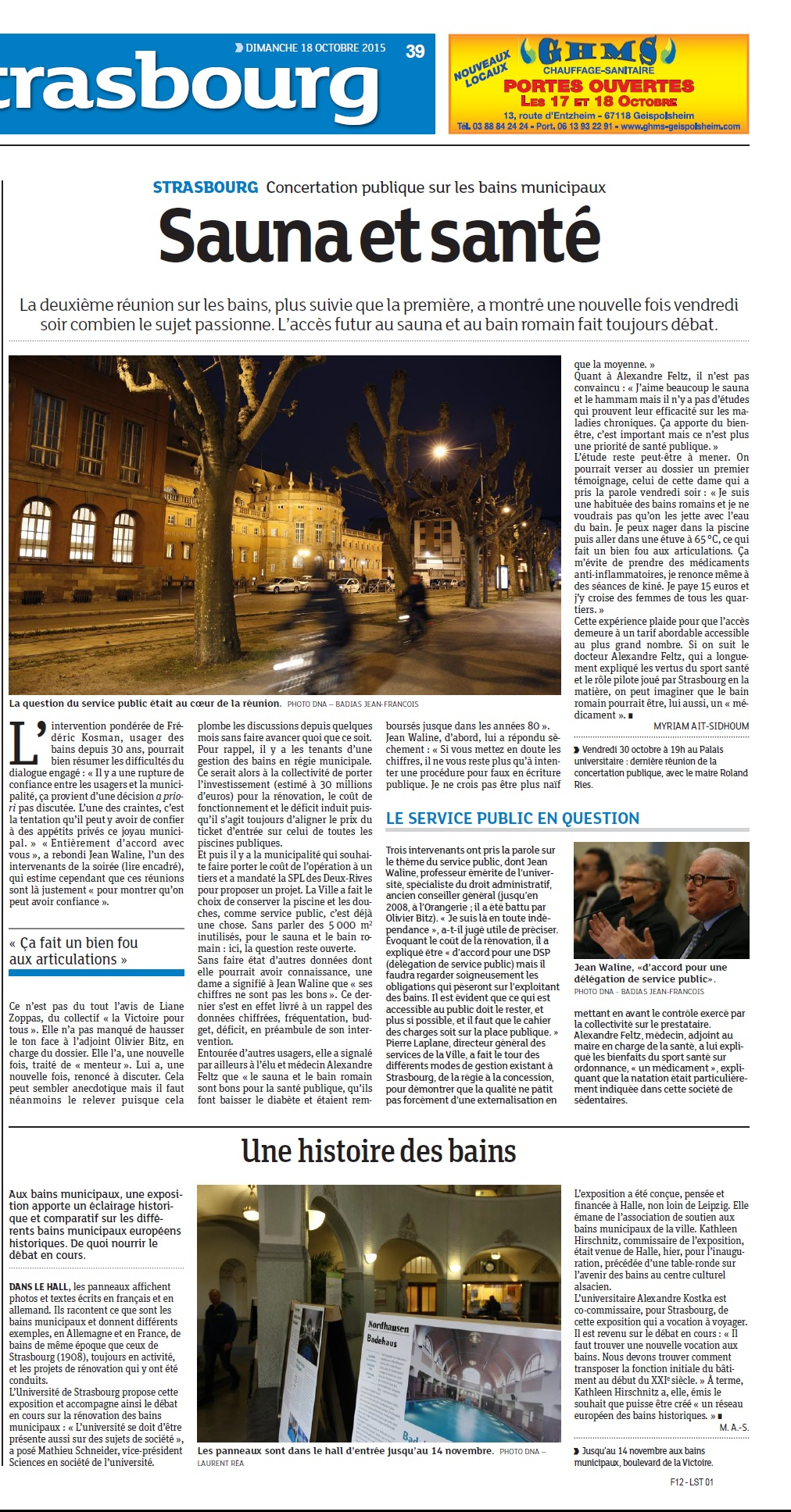 DNA - 18 octobre 2015