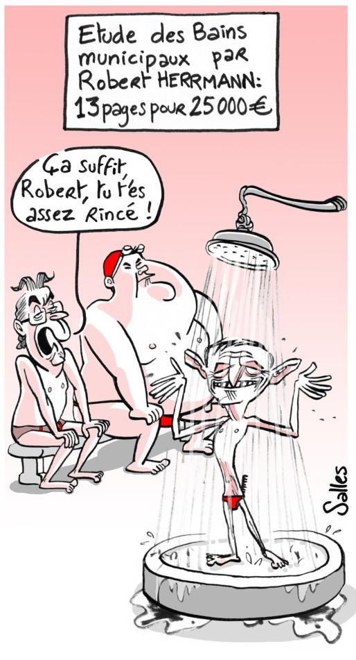 Illustration Laurent Salles, pour Rue89