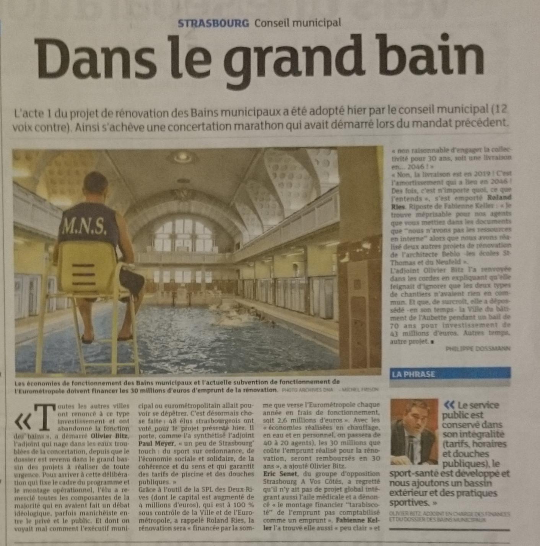Dna Dans Le Grand Bain 28 06 2016