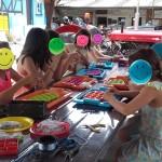 Atelier Créatif à la  Ferme Équestre Rand'Okla- juillet 2016
