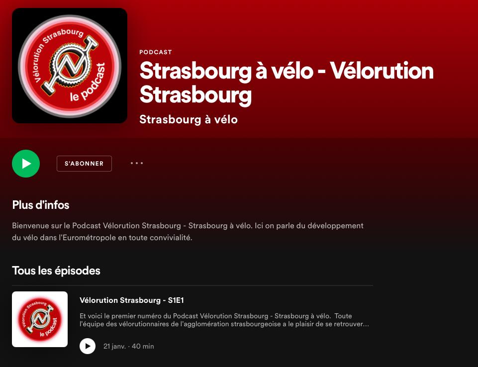 Vélorution Strasbourg présente son premier Podcast