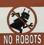 « La vie sans robots », Logo tiré du film d'animation signé Knoll Kimberly et Yunghan Chang