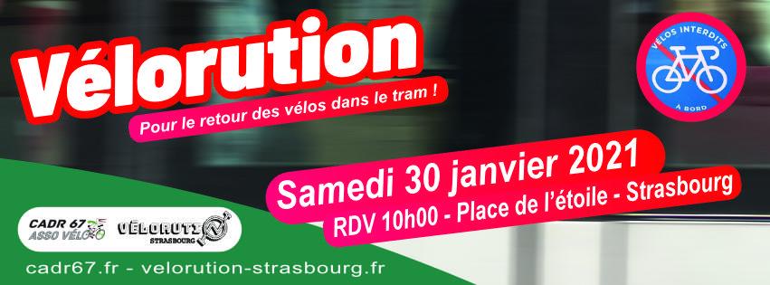 Vélorution Strasbourg